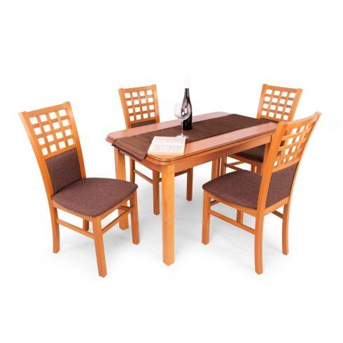 Kármen 4 személyes étkező Piano asztallal