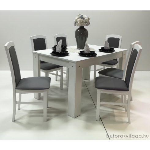 Barbi 6 személyes étkezőgarnitúra Félix asztallal