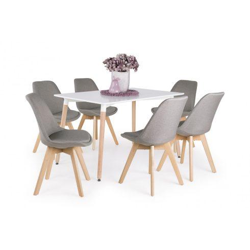 Korvin asztal - 6 db Lili szék